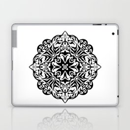 Polynesian style tattoo mandala Laptop & iPad Skin