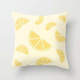 Fruity Lemon Splice Throw Pillow