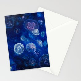 It's Jellyfishing Outside Tonight Stationery Cards