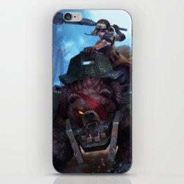 Bear Cavalry Sejuani League Of Legends iPhone Skin