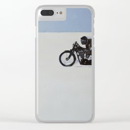 Brough Superior on the Salt Clear iPhone Case