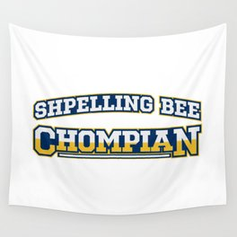 Shpelling Bee Chompian Wall Tapestry