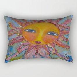 Miss Sunshine - Whimsies of Light Children Series Rectangular Pillow