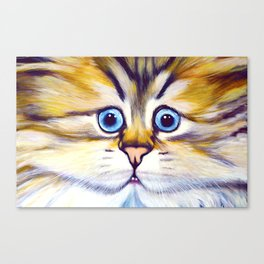 Fur Face Canvas Print