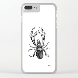 INSECT 01 Clear iPhone Case