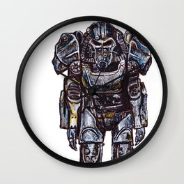 T-60 Power Armour Wall Clock