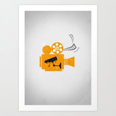 Cinema Art Print