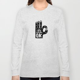 IT'S OKAY Long Sleeve T-shirt
