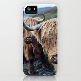 On the hills iPhone Case