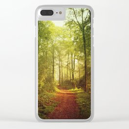 October Forest Clear iPhone Case