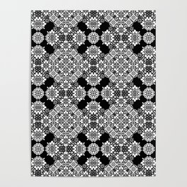 lace ornament Poster