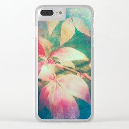 Autumn Vibrations 01 Clear iPhone Case
