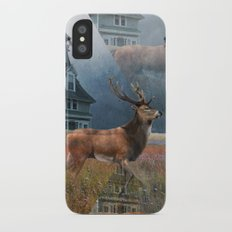 Illusion Stag iPhone X Slim Case