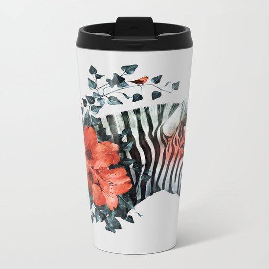 Untamed Metal Travel Mug