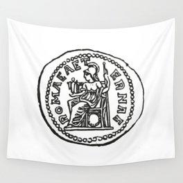 Coin Moneda Denario Denarius Wall Tapestry