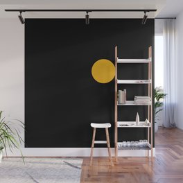 yellow point Wall Mural