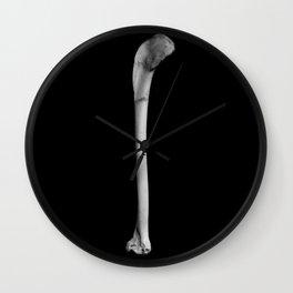 Bones Wall Clock