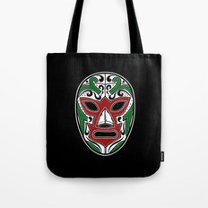 Mexican Wrestling Mask - Color Edition Tote Bag