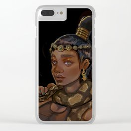 Golden Girl Clear iPhone Case