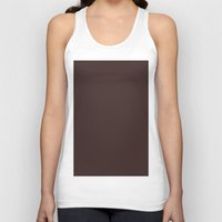burgundy Tank Tops featuring Old burgundy by List of colors