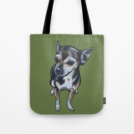 Artie the Chihuahua Tote Bag
