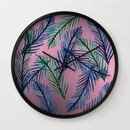 Botanical  pattern I Wall Clock
