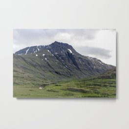 The house at the bottom of the mountain Metal Print