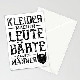 Kleider Machen Leute Bärte Machen Männer Stationery Cards