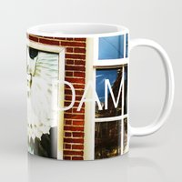 posters Mugs featuring Amsterdam Posters by Cristhian Arias-Romero