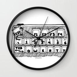 Gotta Escape Wall Clock