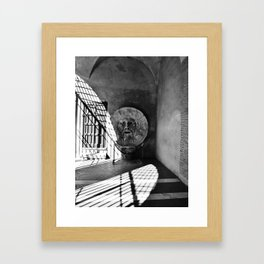 Bocca della Verita Framed Art Print