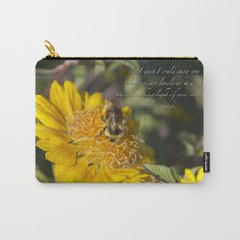 Light of Your Own Being Carry-All Pouch