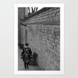 London guard  Art Print