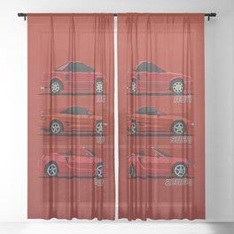 MR2 Generations Sheer Curtain