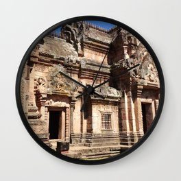 Ancient Doorways #1 Wall Clock