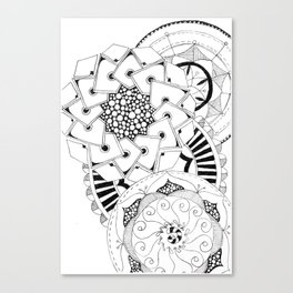 Mandala Series 04 Canvas Print