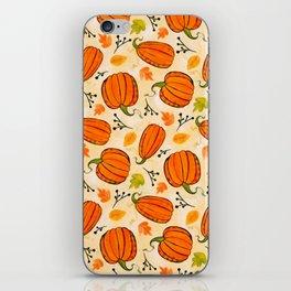 Pumpkins pattern I iPhone Skin