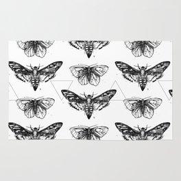 Geometric Moths Rug