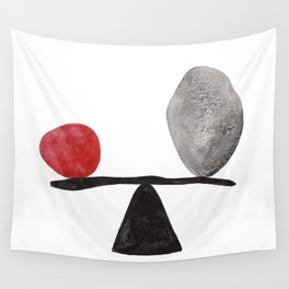 the red stone Wall Tapestry