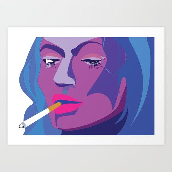 no-regrets Art Print