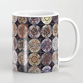 Tree Ring Mandala Coffee Mug