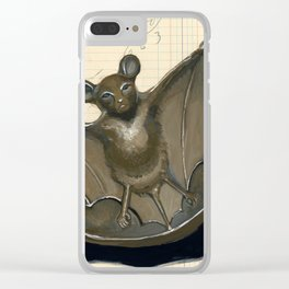 Metal Bat Tray in Gouache Clear iPhone Case