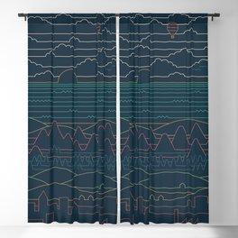 Linear Landscape Blackout Curtain