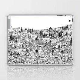 Albaicin View from the Alhambra, Granada, Spain Laptop & iPad Skin
