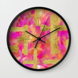 Delia Abstract Wall Clock