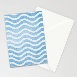 Waves. Stationery Cards