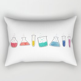 Spectrum Test Tubes Rectangular Pillow