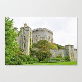 Majestic Windsor Castle Canvas Print