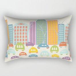 City Traffic Rectangular Pillow