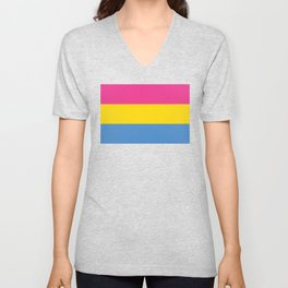 Pansexual Flag Unisex V-Neck